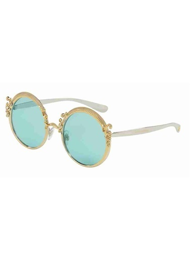 Dolce&Gabbana Dolce & Gabbana 2177 02/65 53 Ekartman Kadın Güneş Gözlüğü Altın